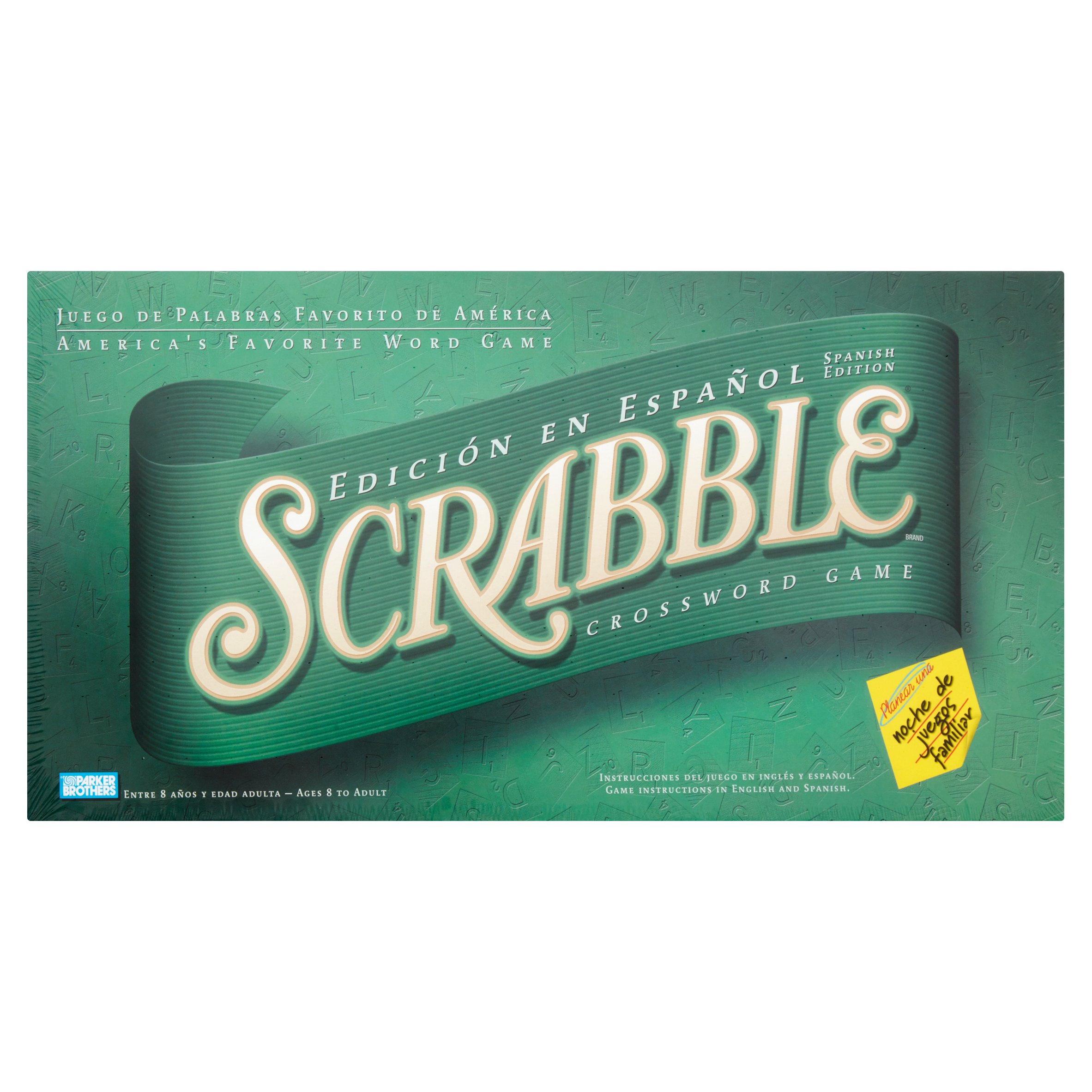 Scrabble Crossword Game Spanish Edition