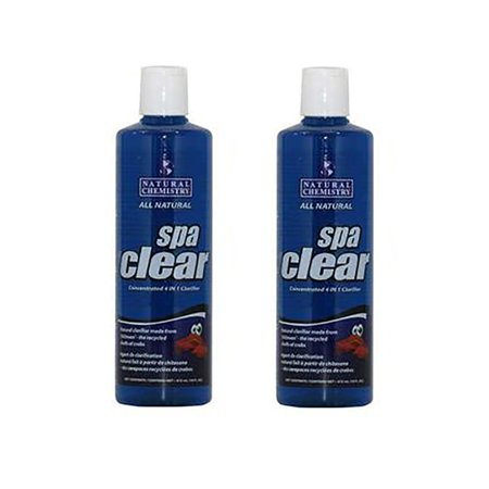 Natural Chemistry Spa Clear Concentrated 4-in-1 Clarifier, 32 Ounces (2