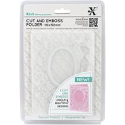 Xcut Cut & Emboss Folder 110mm X 150mm-Dress