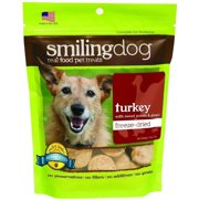 Herbsmith Smiling Dog Freeze-Dried Treats, Turkey with Sweet Potato and Ginger