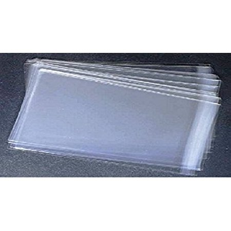 Lip & Seal Clear Cello Bag - 100 Bulk Pk 1.6 Ml (4-1/8 x 9-1/2