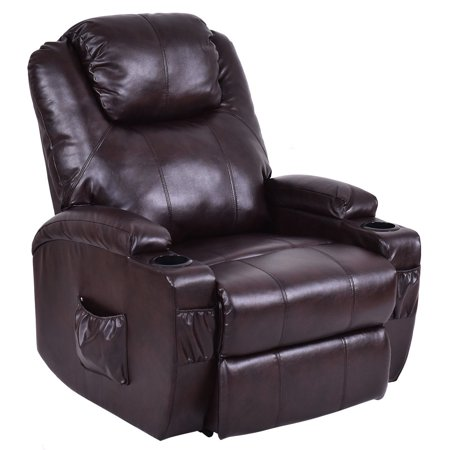 Costway Lift Chair Electric Power Recliner w/Remote and Cup Holder ...