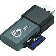 SIIG SuperSpeed USB 3.0 Single-Slot SD/MMC Card Reader/Writer (JU-MR0812-S1)