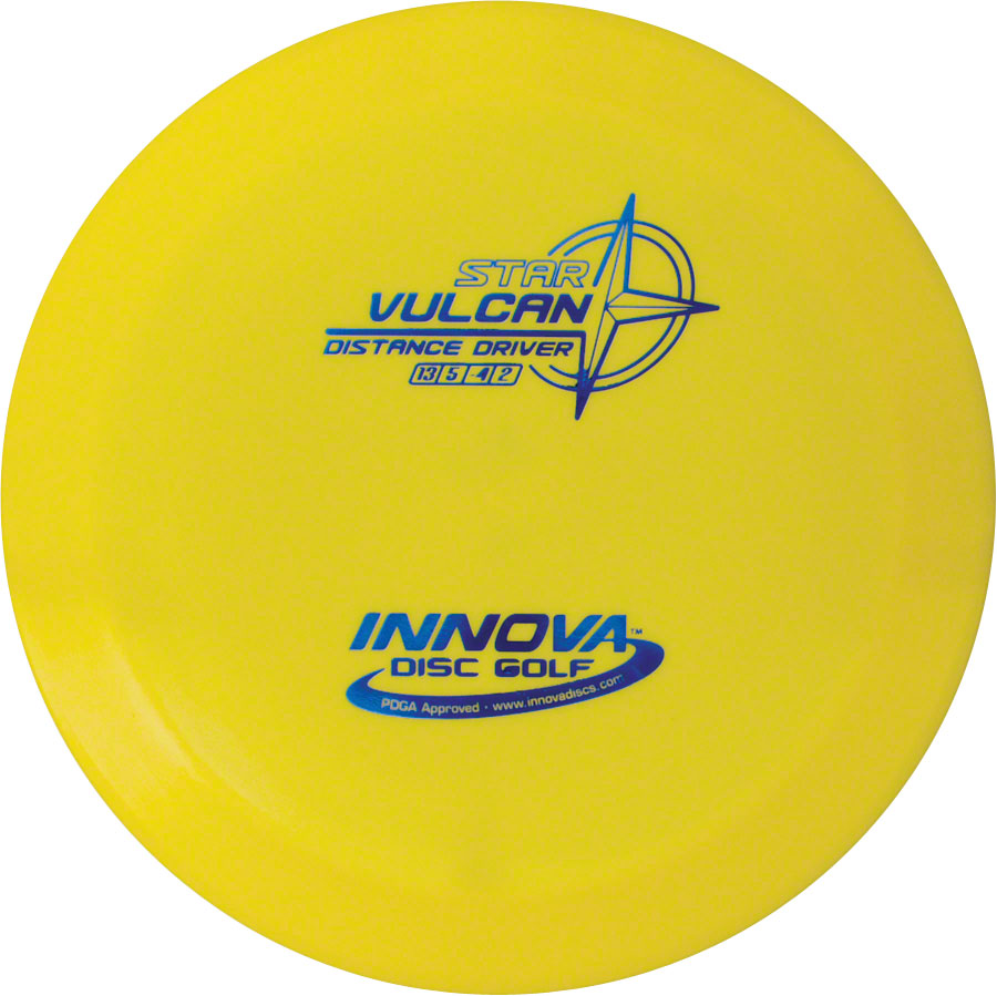 Innova Vulcan Star Golf Disc: Assorted Colors