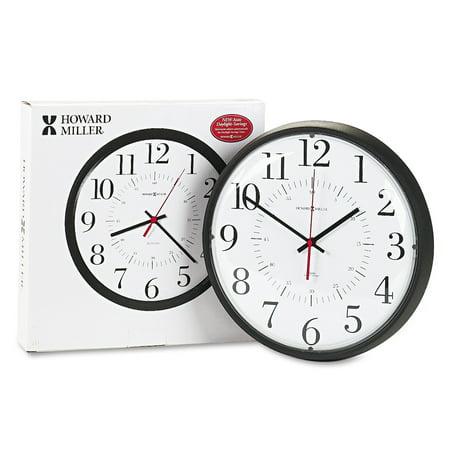 Howard Miller Alton Auto Daylight Savings Wall Clock, 14