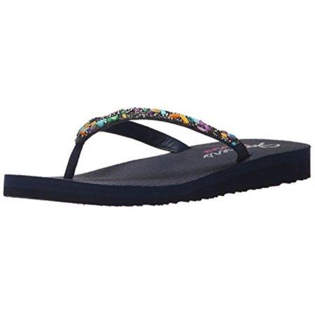 3097627a96c060 Skechers - Skechers Cali Women s Meditation-Break Water Flip Flop ...