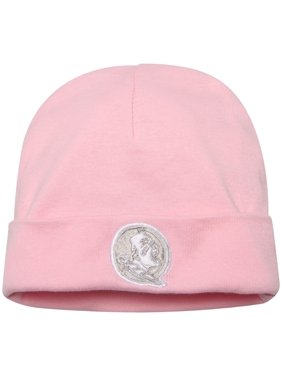 Florida State Seminoles Top of the World Toddler Team Logo Cuffed Knit Hat - Pink - OSFA