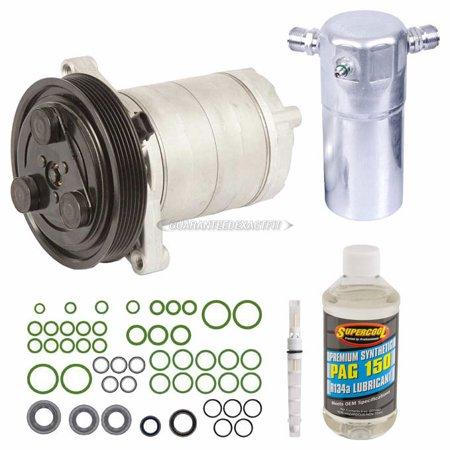 AC Compressor w/A/C Repair Kit For Buick LeSabre Park Avenue Olds 88 -