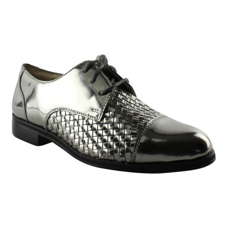 Cole Haan Mens Pewter Oxfords Dress Shoes Size 6 New 8cbf0eb0c99