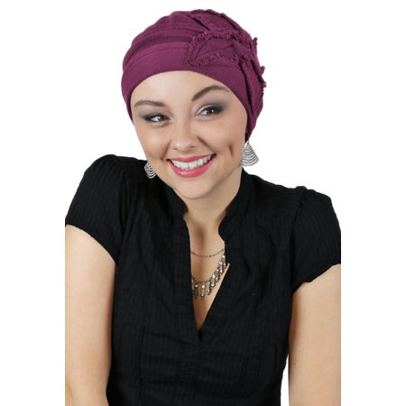 55599db69 Butterfly Beanie Cotton Chemo Cap for Cancer Patients by Parkhurst Hats -  Walmart.com