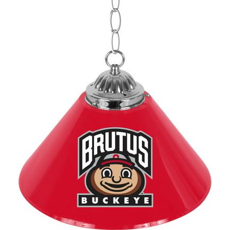 The Ohio State University 14 Inch Single Shade Bar Lamp