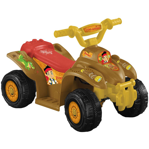 Disney Jake and the Never Land Pirates Quad 6-Volt Battery-Powered Ride-On