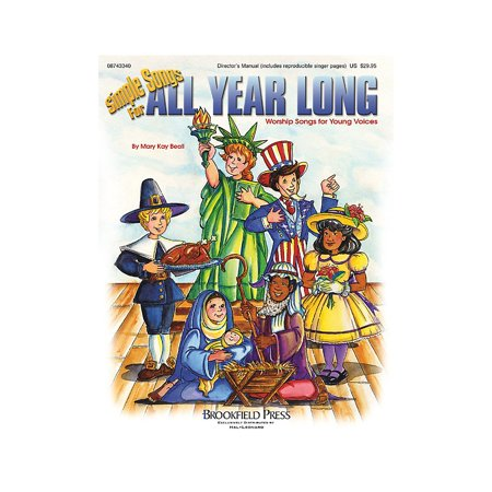 Brookfield Simple Songs for All Year Long (Preview CD) PREV CD Composed by Mary Kay Beall - Halloween Songs For 11 Year Olds