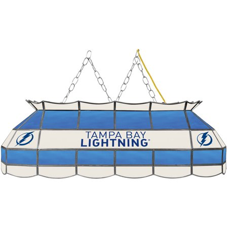"NHL Handmade Tiffany Style Lamp, 40"", Tampa Bay Lightning by"