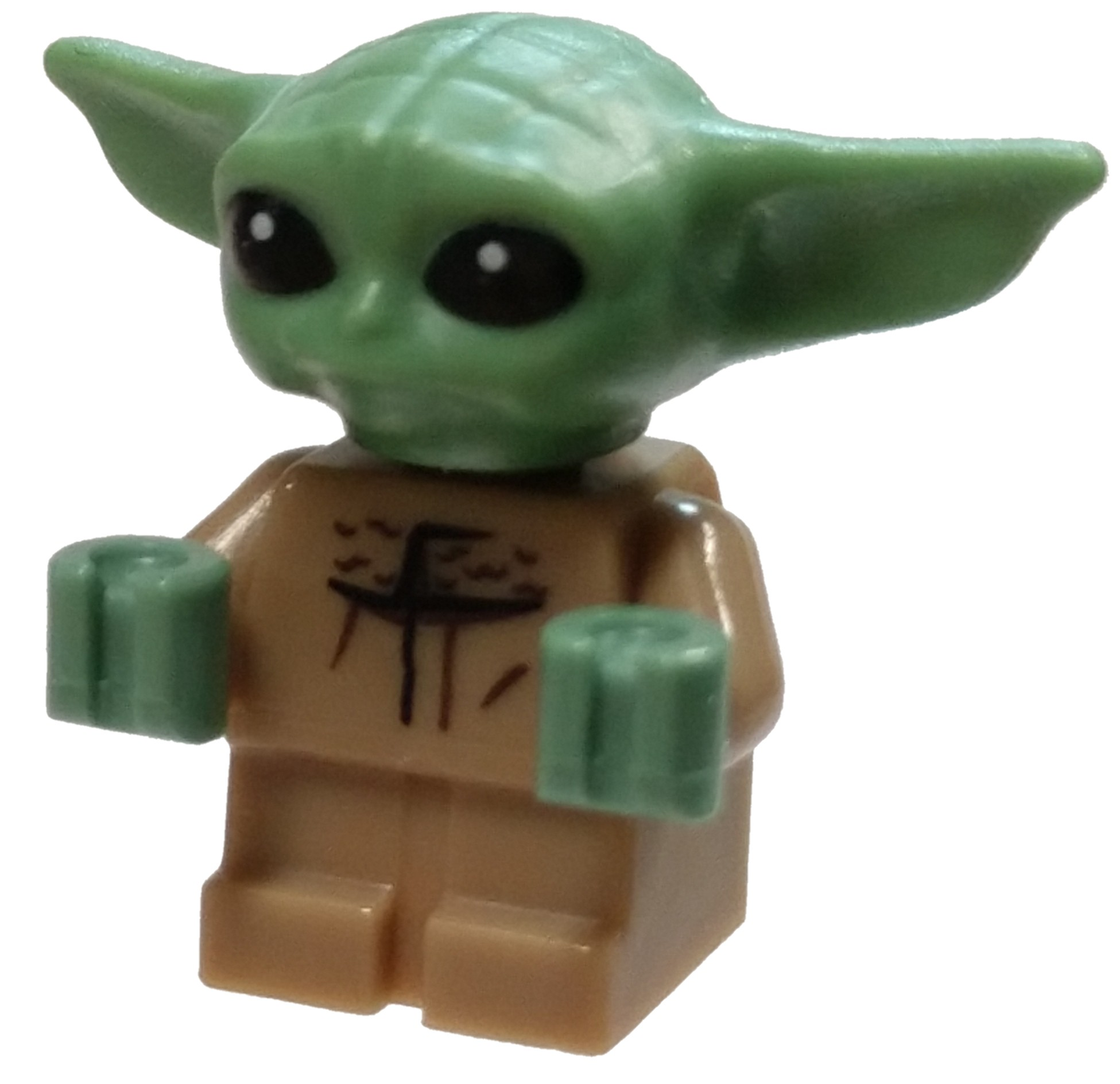 1Pcs Baby Yoda Star Wars Lego Minifigures Building Blocks Toys