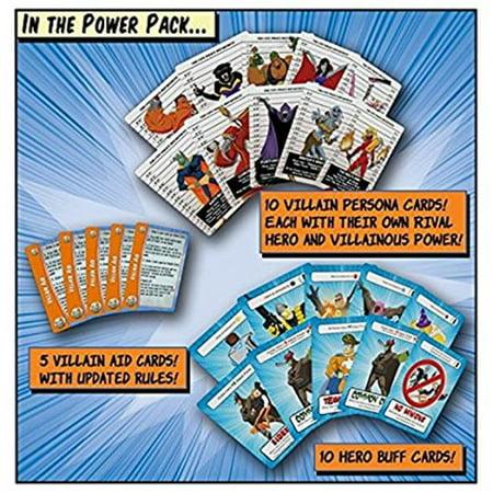 Vile Genius Games VGI1022 Un jeu de Super-Villainy Power Pack contrari- - image 1 de 1