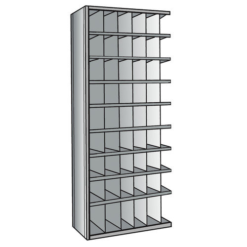Hallowell Hi-Tech Bin 87'' H 9 Shelf Shelving Unit