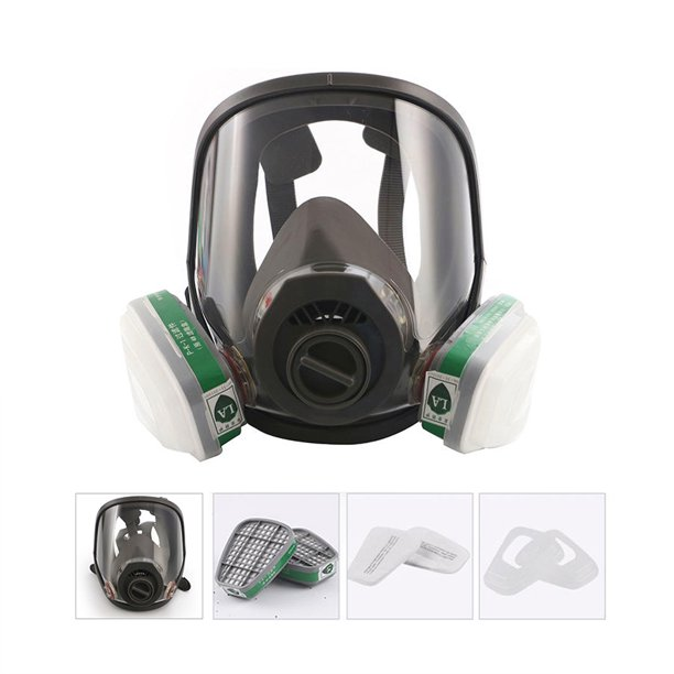 full face mask virus
