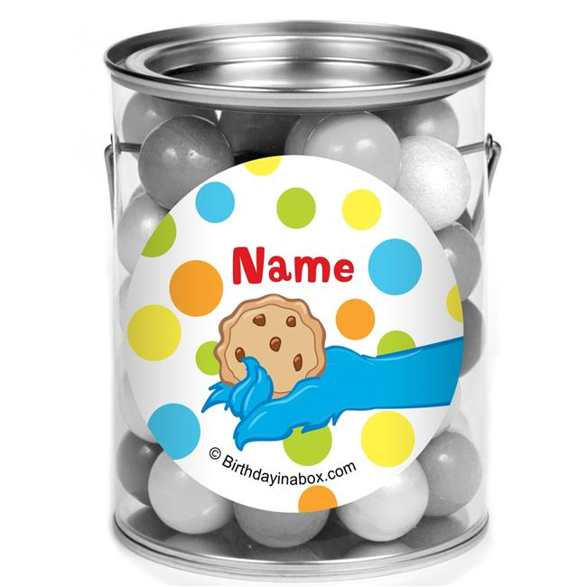 Costume Supercenter BB021256PCM Sesame Friends Personalized Mini Paint Cans