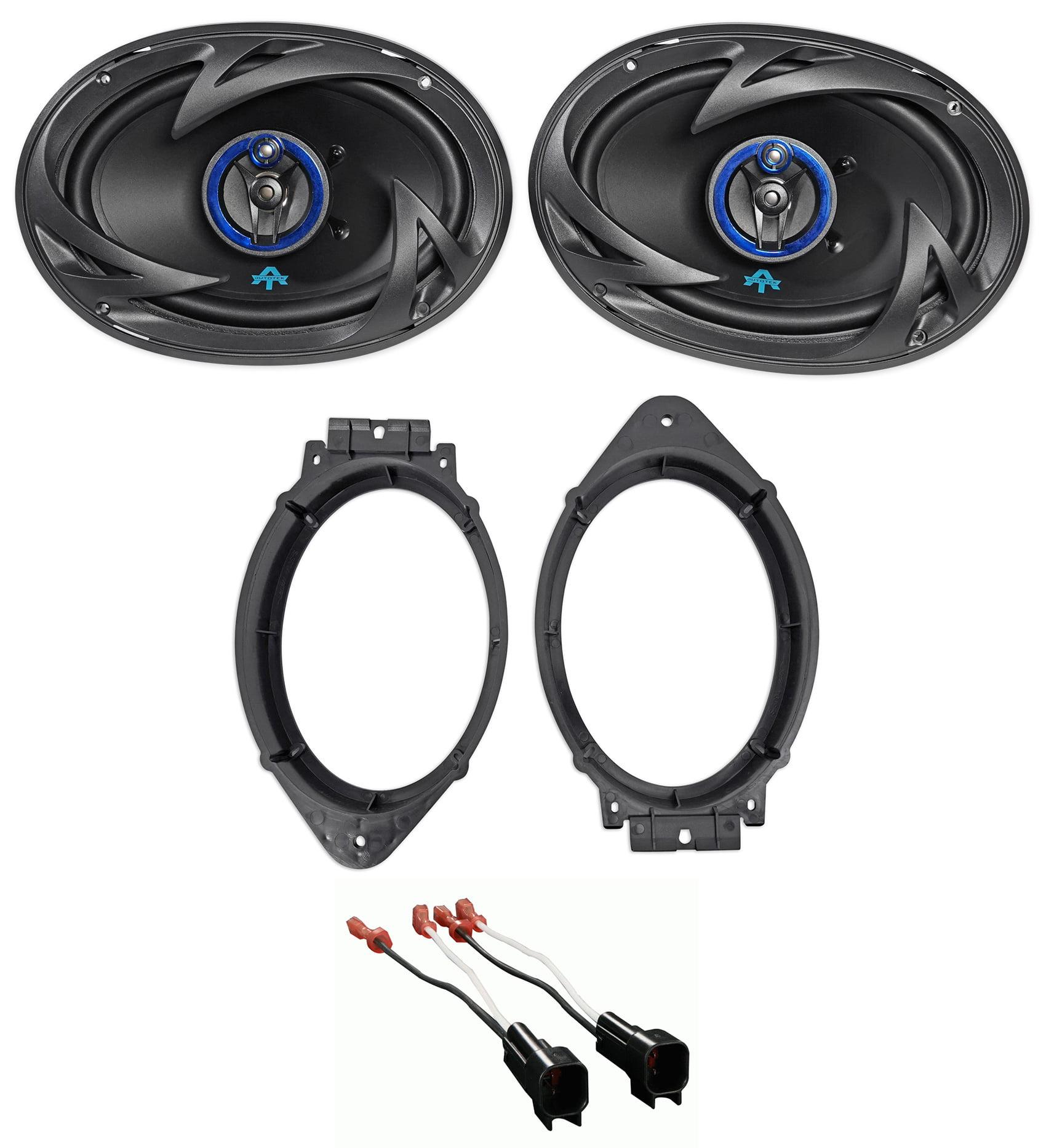 "2015-17 Chevrolet Silverado 2500/3500 Autotek 6x9"" Front Speaker Replacement Kit"