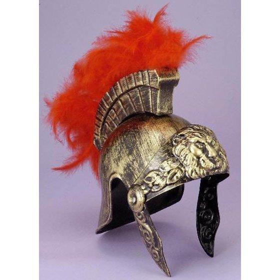 8871db0d074 Roman Gladiator Helmet Spartan Warrior Trojan Greek Spartan Armor Costume  Hat - Walmart.com