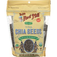 BOBS RED MILL: Organic Whole Chia Seeds, 12 oz