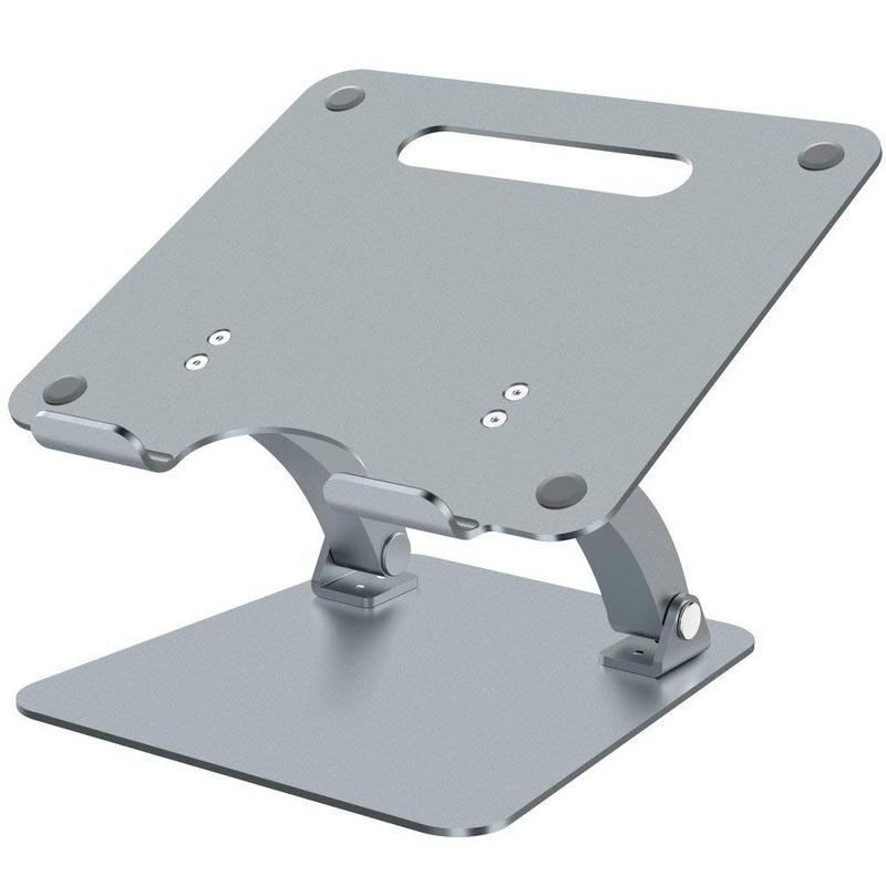 Nulaxy Adjustable Aluminum Laptop Stand For Macbook Pro Air Apple