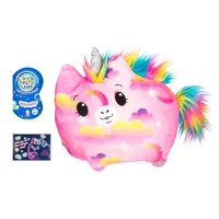 """Pikmi Pops™ Jelly Dreams, Wishes the Unicorn, 11"""" Glowing Plush Toy"""