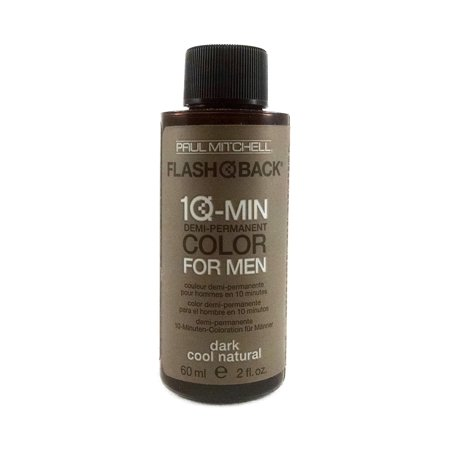 Paul Mitchell FLASH BACK 10-Min Color For Men (DARK COOL (Cool Colours)