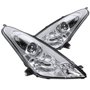 Spec-D Tuning For 2000-2005 Toyota Celica Clear Projector Headlights Replacement (Left+Right) 2000 2001 2002 2003 2004 2005