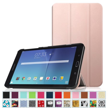 new product 9c019 3bcf7 Fintie Samsung Galaxy Tab E 8.0 SlimShell Case - Ultra Slim Lightweight  Standing Cover, Rose Gold