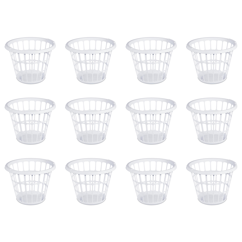 Mainstays 1 Bushel/35 L Laundry Basket, Case of 12