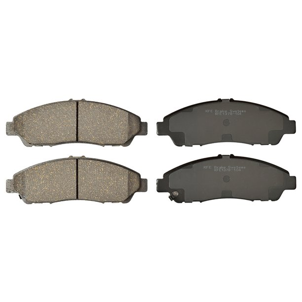 Premium Ceramic Disc Brake Pad FRONT Set + Shims KFE