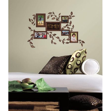 Roommates Peel And Stick Decor Wall Decals Family Frames 50 Pieces