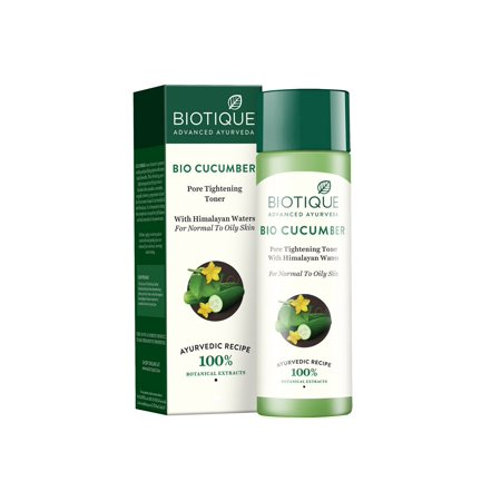 Biotique Bio Cucumber Pore Tightening Toner, (Best Toner For Pores In India)