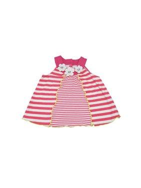 Kids Headquarters Baby Girls Size 2T Sleeveless Top, Pink/White