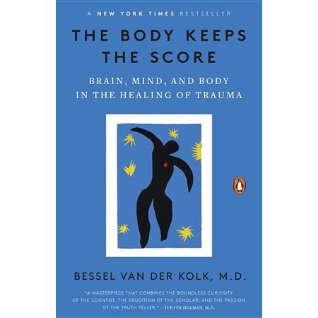 The Body Keeps the Score : Brain, Mind, and Body in the Healing of Trauma #1 New York Times bestseller  Essential reading for anyone interested in understanding and treating traumatic stress and the scope of its impact on society.  --Alexander McFarlane, Director of the Centre for Traumatic Stress Studies A pioneering researcher transforms our understanding of trauma and offers a bold new paradigm for healing in this New York Times bestseller Trauma is a fact of life. Veterans and their families deal with the painful aftermath of combat; one in five Americans has been molested; one in four grew up with alcoholics; one in three couples have engaged in physical violence. Dr. Bessel van der Kolk, one of the world's foremost experts on trauma, has spent over three decades working with survivors. In The Body Keeps the Score, he uses recent scientific advances to show how trauma literally reshapes both body and brain, compromising sufferers' capacities for pleasure, engagement, self-control, and trust. He explores innovative treatments--from neurofeedback and meditation to sports, drama, and yoga--that offer new paths to recovery by activating the brain's natural neuroplasticity. Based on Dr. van der Kolk's own research and that of other leading specialists, The Body Keeps the Score exposes the tremendous power of our relationships both to hurt and to heal--and offers new hope for reclaiming lives.