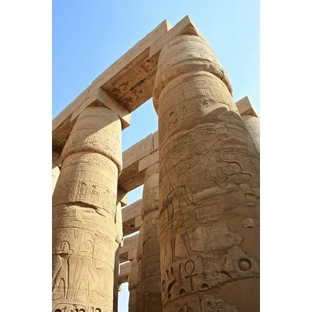 Peel-n-Stick Poster of Ancient Pharaoh History High Egypt Civilization Poster 24x16 Adhesive Sticker Poster - Egyptian Pharo