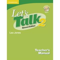 Let's Talk Level 2 Teacher's Manual 2 with Audio CD
