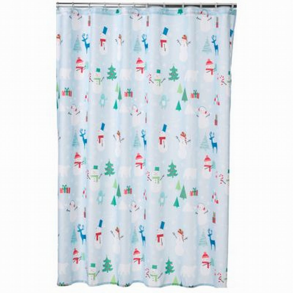 Christmas Shower Curtains Walmart Brown Shower Curtains Walm