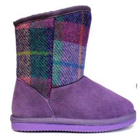 Lamo Girls' Wembley Boot - Furry Boots For Girls