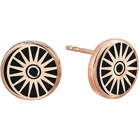 Alex And Ani Cosmic Balance Post Earrings - 14KT Rose Gold Plated - PC18ECBR Rose Earring Posts