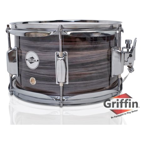 Aluminum Shell Snare Drum (Popcorn Snare Drum by Griffin Firecracker 10