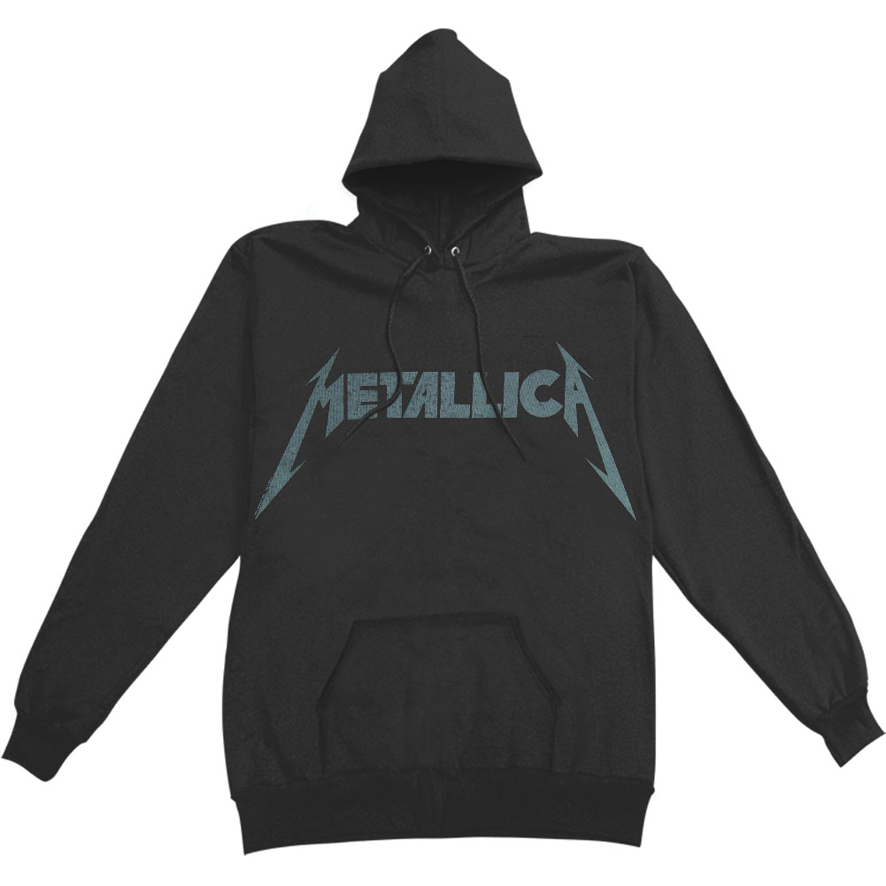 Metallica Men's  Kirk Ouija Guitar Hooded Sweatshirt Black