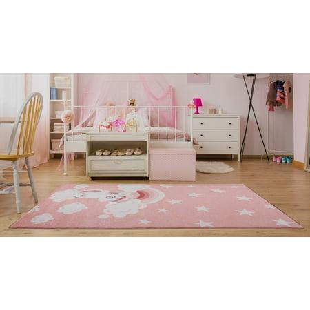 Baby Pink Soft Cute Area Rug Carpet Mat