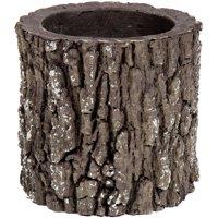 """Surreal V1-LOGPLANTER 6"""" Vertical Oak Planter"""