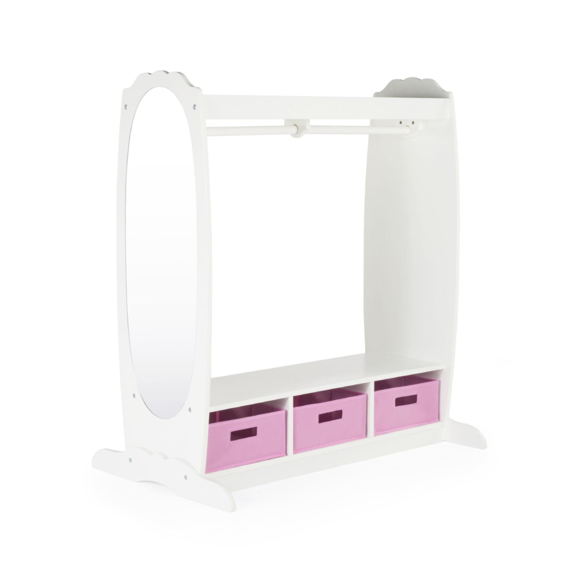 Dress-Up Storage Center White by Guidecraft