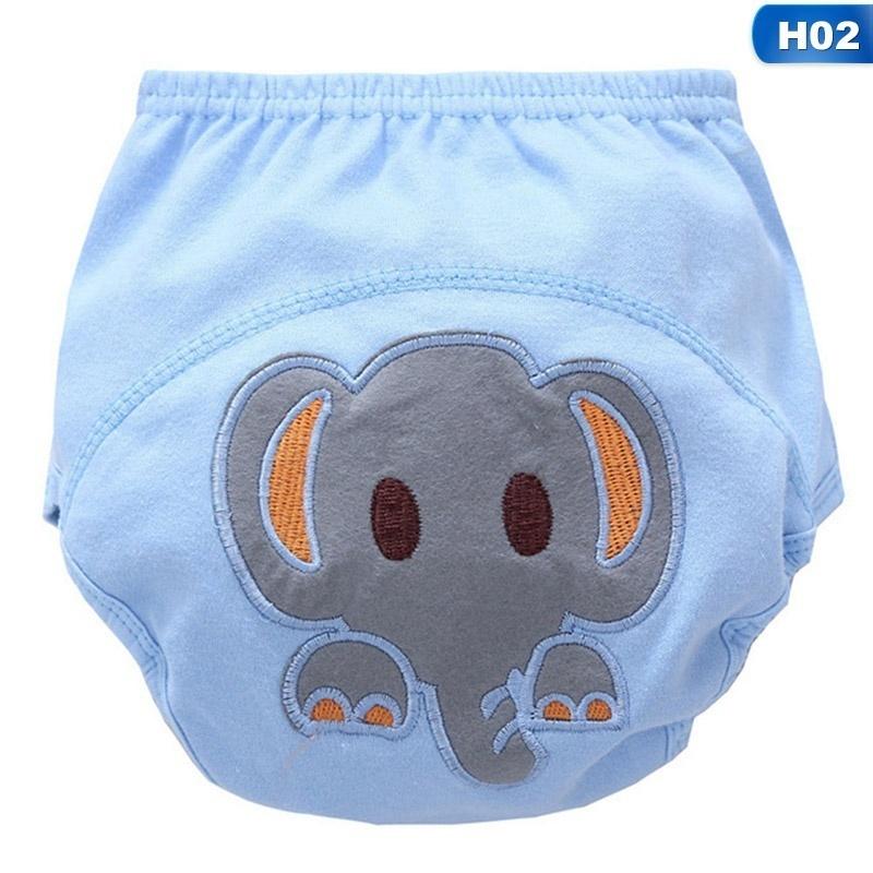 Baby Boys Girls Training Pee Potty Cloth Diaper Pants Nappy Kid Infant Underwear