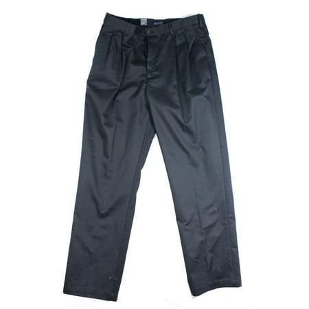 13a9a8a9350d3 IZOD - IZOD NEW Navy Blue Mens 40x36 Metrix Fit Pleated American Chino Pants  - Walmart.com