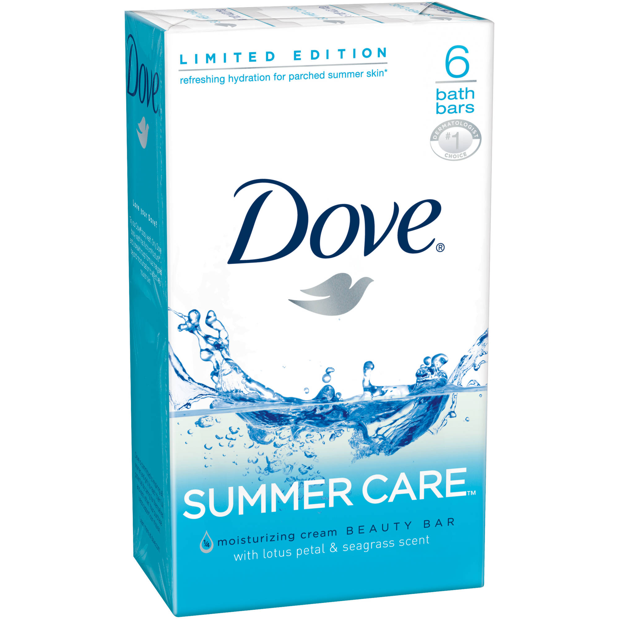 Dove Summer Care Moisturizing with Lotus Petal & Seagrass Scent ...